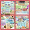 Campos de formación, enfoques, estándares, ámbitos y ejes de las diferentes asignaturas