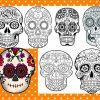 Mandalas De Calaveras Para El Día De Muertos