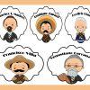 Lindos diseños de Personajes de la Revolución Mexicana