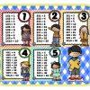 Excelentes diseños de las tablas de multiplicar
