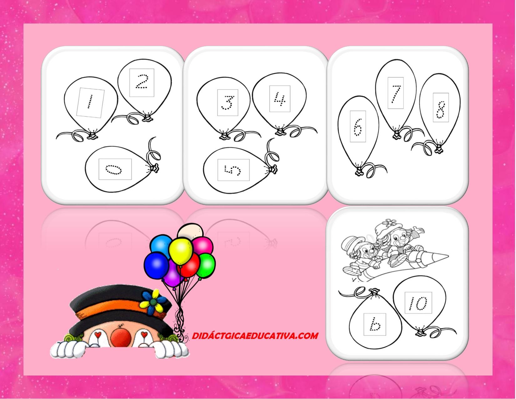 Numeros Para Pintar Cheap Dibujo Para Colorear Con Los: Imagenes De Numeros Para Colorear. Trendy Descargar Globos