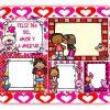 Lindas tarjetas del día del amor y la amistad