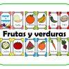 Excelentes tarjetas de frutas y verduras