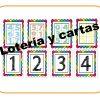Lotería y cartas de números