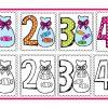 Excelentes diseños de números del 1 al 10