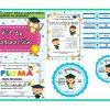 Estupendo kit de graduación para preescolar