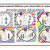 Excelente material didáctico para desarrollar el conteo para preescolar y primer ciclo de primaria