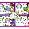 Increíbles diseños de la vocales para preescolar y primer grado de primaria
