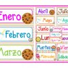 Fabulosos y creativos diseños de los meses del año y los días de la semana