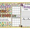 Calendario y lista de pendientes del mes de noviembre