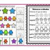 Actividades para el conocimiento matemático con números ordinales y secuencias  para preescolar y primer grado de primaria